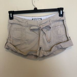 Abercrombie & Fitch Stretch Khakis Shorts Size 4.